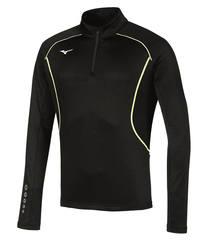 Беговая рубашка мужская Mizuno Premium Jpn Warmer черная