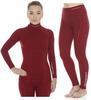Brubeck Wool Merino женский комплект термобелья красный - 1