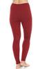 Brubeck Wool Merino женский комплект термобелья красный - 4