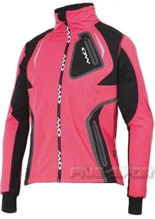 Лыжная Куртка One Way Valbor розовая