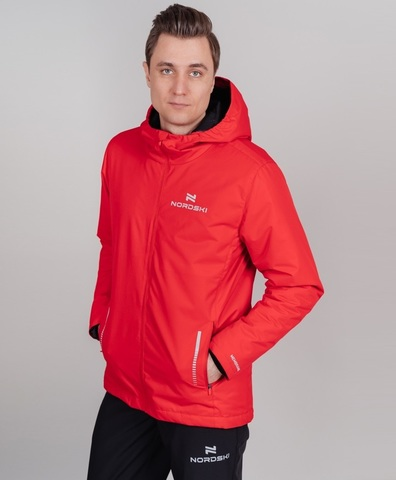 Nordski Urban утепленный костюм мужской красный
