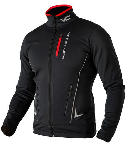Victory Code Speed Up разминочная лыжная куртка black