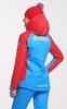 Nordski National Premium утепленный лыжный костюм женский Blue - 3