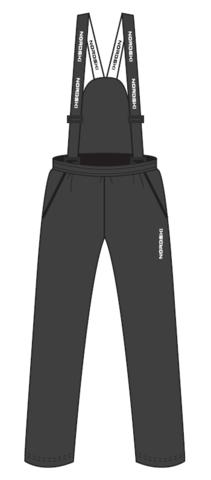 Nordski Junior теплые лыжные брюки детские grey