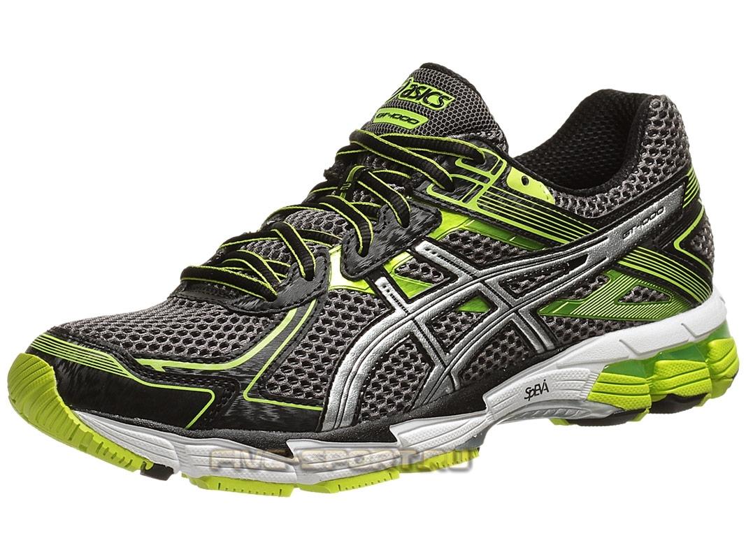 Кроссовки для бега Asics GT-1000 2 Мужские кроссовки для бега серые - 4