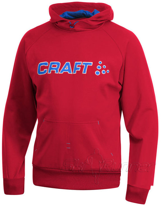 Толстовка Craft Flex Hood мужская red