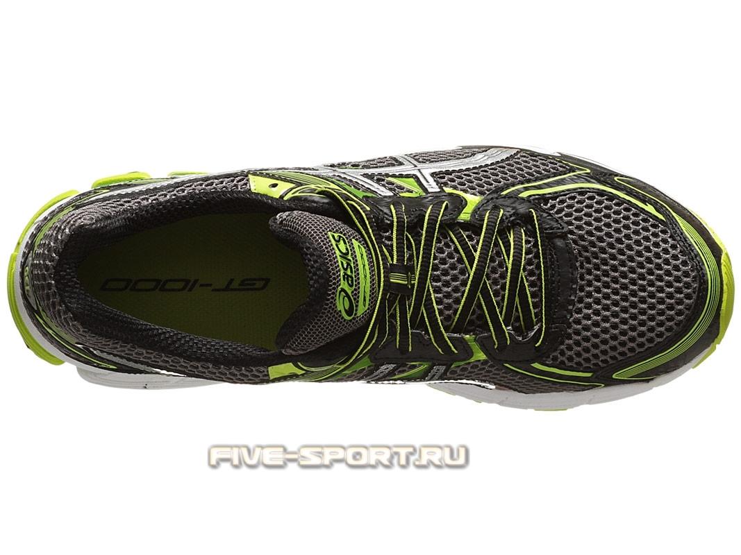 Кроссовки для бега Asics GT-1000 2 Мужские кроссовки для бега серые - 2