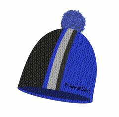 Nordski Knit лыжная шапка blue-black