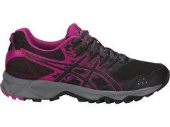 Кроссовки внедорожники женские Asics Gel Sonoma 3 черные-фиолетовые