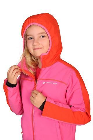 Alpine Pro Nootko 2 Ins лыжная куртка детская pink