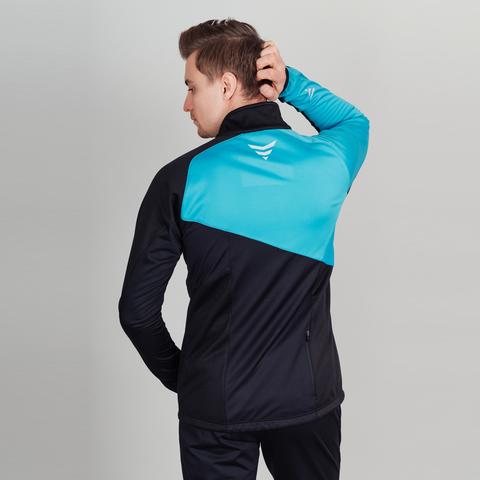 Nordski Premium лыжная куртка мужская blue-black
