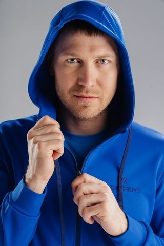 Nordski Hood спортивная толстовка мужская vasilek