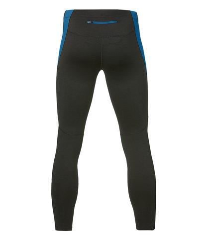 Тайтсы для бега Asics Winter мужские black-blue
