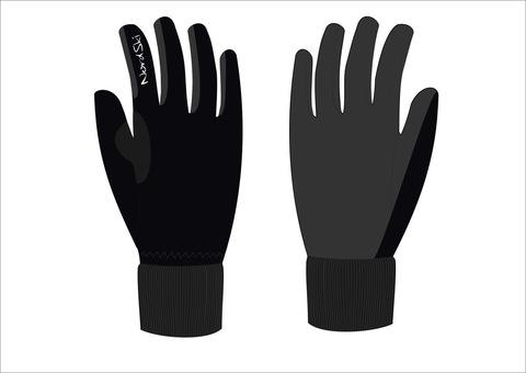 Nordski Active WS Jr детские лыжные перчатки черные