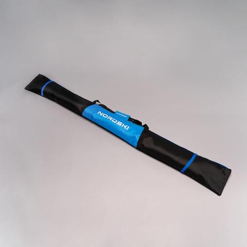 Nordski чехол для лыж 195 см 3 пары черный-синий