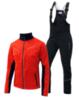 Nordski Premium Active мужской лыжный костюм red - 1