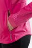 Craft Warm Storm 2.0 женский костюм для бега зимой черный-розовый - 4