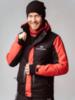 Nordski Extreme горнолыжная куртка мужская black-red - 1