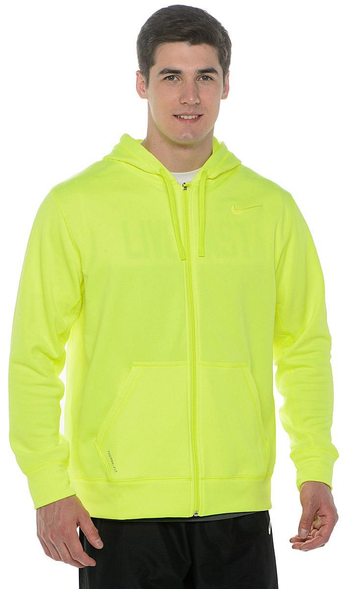 Толстовка Nike KO Full Zip Hoody 2.0 салатовая - 3