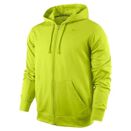 Толстовка Nike KO Full Zip Hoody 2.0 салатовая - 4
