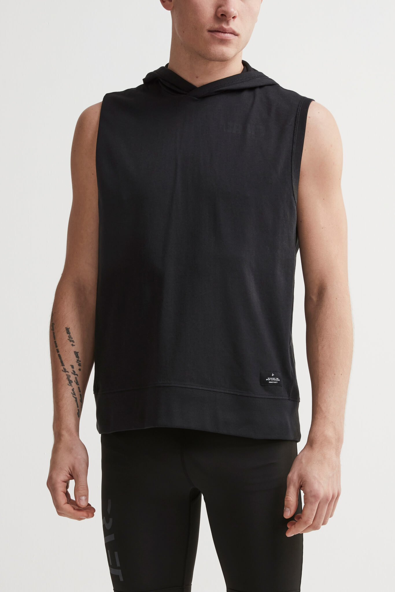 Craft Deft 2.0 толстовка с капюшоном мужская без рукавов black - 2