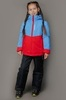 Nordski Kids Montana утепленный лыжный костюм детский blue-red - 1