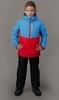 Nordski Kids Montana утепленный лыжный костюм детский blue-red - 2