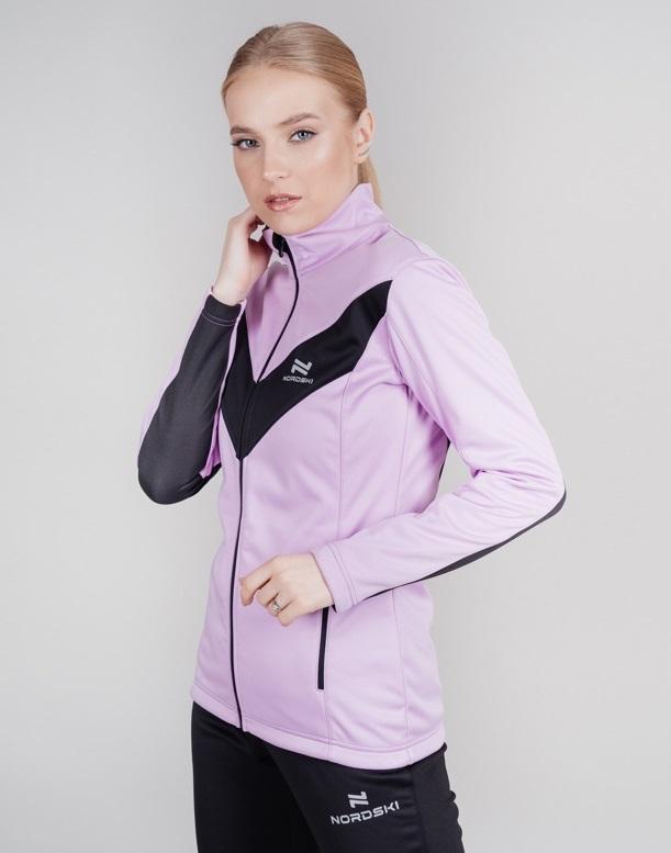 Nordski Base тренировочная куртка женская orchid - 3