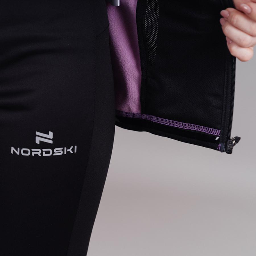 Nordski Base тренировочная куртка женская orchid - 5
