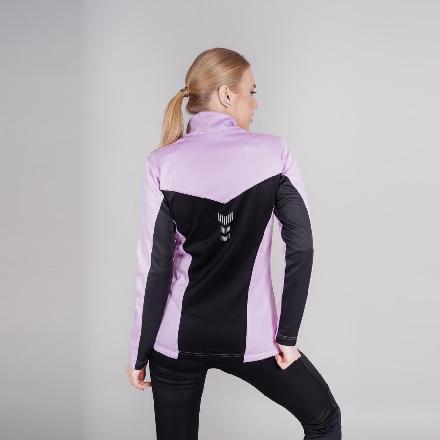 Nordski Base тренировочная куртка женская orchid - 2