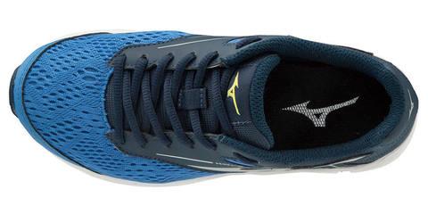 Mizuno Wave Rider 23 кроссовки для бега подростковые синие