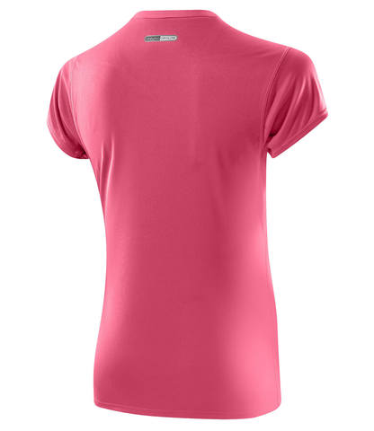Mizuno Core Tee футболка беговая женская розовая