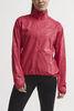 Craft Eaze куртка ветровка для бега женская розовая - 2