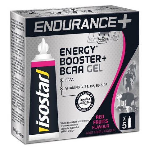 Isostar Long Distance Energy + BCAA 20 г энергетический гель