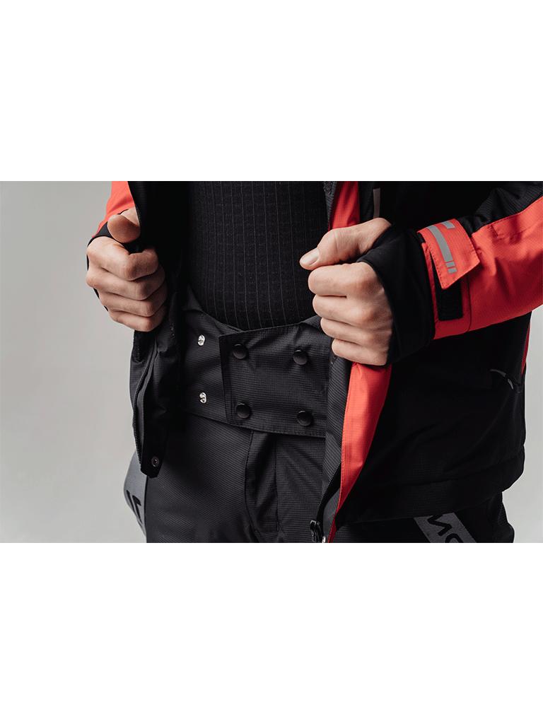 Nordski Extreme горнолыжная куртка мужская black-red - 5