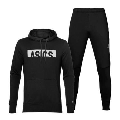 Asics Esnt Styled спортивный костюм мужской black