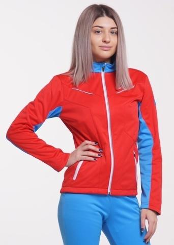 Nordski Jr National детская лыжная куртка красная