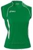 Asics Singlet Aruba Майка волейбольная женская green - 1