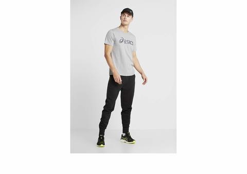 Asics Big Logo Tee футболка для бега мужская серая