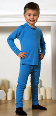 Nordski Warm детский комплект термобелья синий