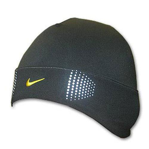 Шапочка беговая Nike чёрная