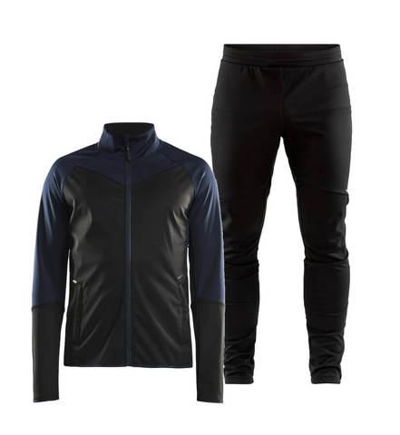 Craft Glide XC лыжный костюм мужской черный-синий