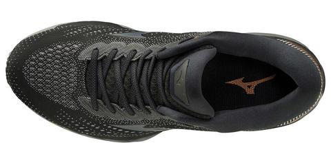 Mizuno Wave Sky 3 кроссовки для бега мужские черные (Распродажа)