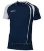 Asics T-shirt Fan Man футболка волейбольная dark-blue - 1