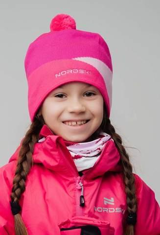Nordski Line лыжная шапка rose