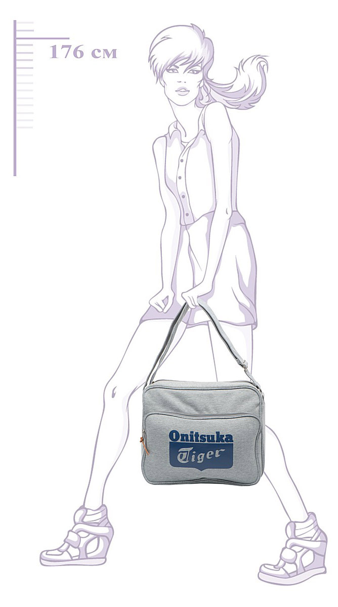 Сумка Asics Messenger Bag - 6