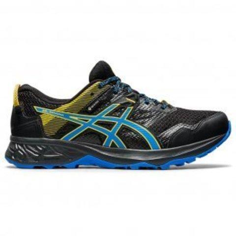 Asics Gel-Sonoma 5 G-TX кроссовки-внедорожники для бега мужские черные(РАСПРОДАЖА)