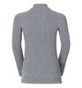Odlo Warm детское термобелье рубашка на молнии серая - 3
