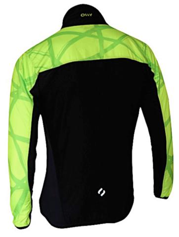 Olly Bright Sport куртка для бега lime