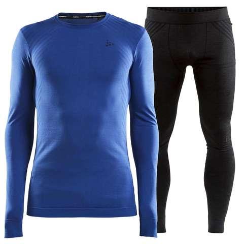 Craft Fuseknit Comfort комплект термобелья мужской blue-black